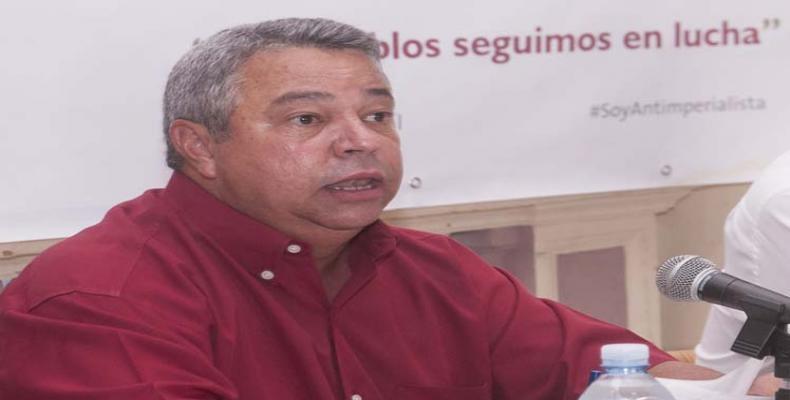 Guilarte adelantó que el evento sesionará en cinco comisiones. Foto: José Tito Meriño/PL