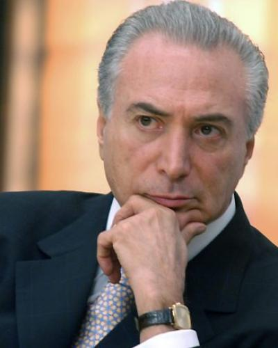 Brazilian Coup President Michel Temer