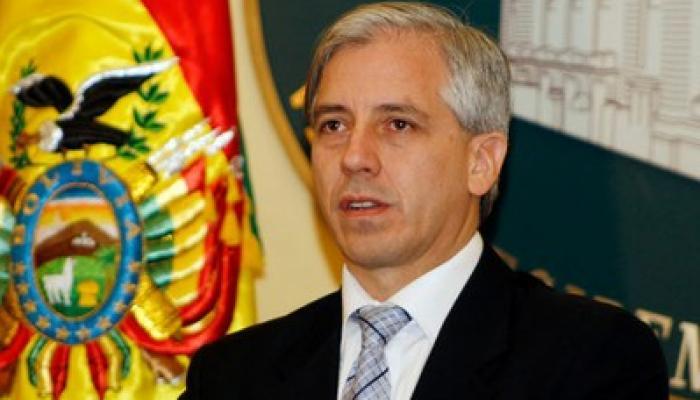 Vicepresidente boliviano, Álvaro García Linera