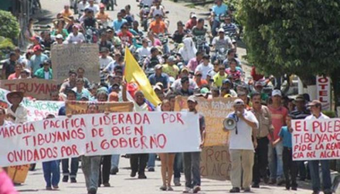 Cerca de 30 000 campesinos e indígenas de Colombia realizan desde este lunes un paro agrario nacional,