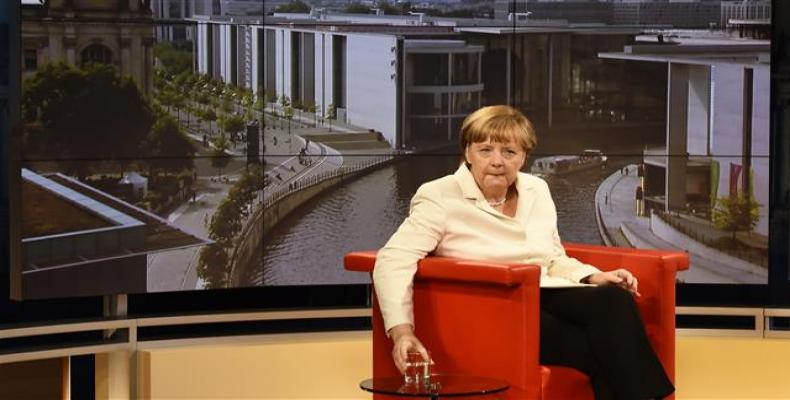 canciller federal de Alemania, Angela Merkel