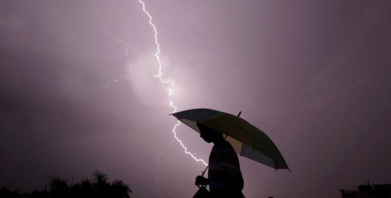Causa tormenta en la India 40 muertos.Foto:AFP.