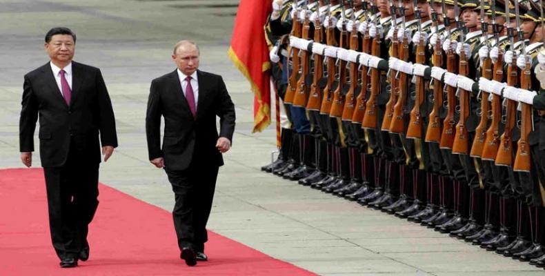 Xi Jinping y Vladimir Putin. Foto/PL
