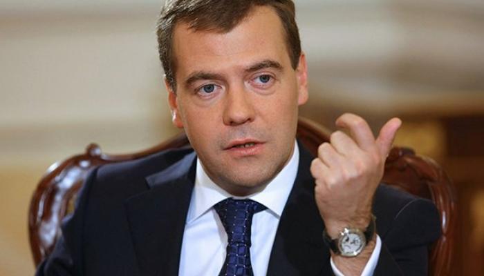 Primer ministro de Rusia, Dmitri Medvedev