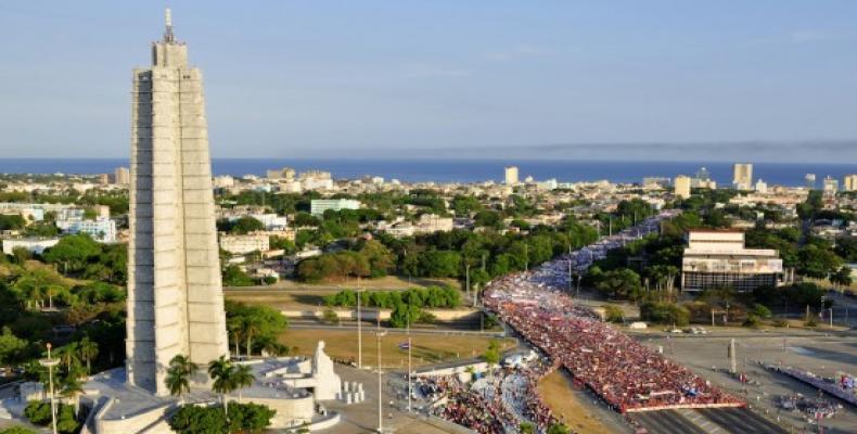 Placo de la Revolucio de Havano