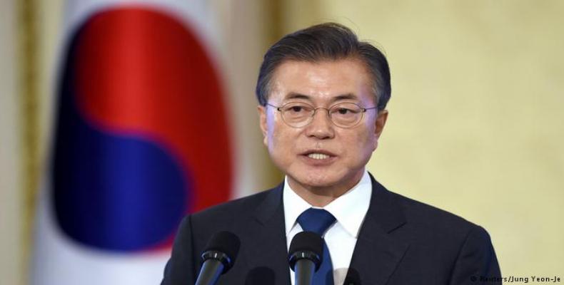 South Korea´s president Moon Jae-in