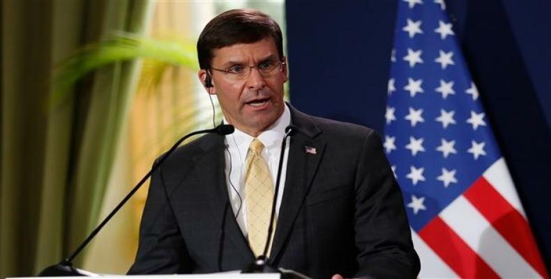 US Secretary of Defense Mark Esper   (Photo: AFP)