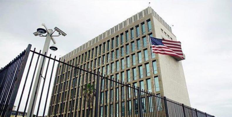 Embajada de Estados Unidos en Cuba. Foto: @CubaMINREX