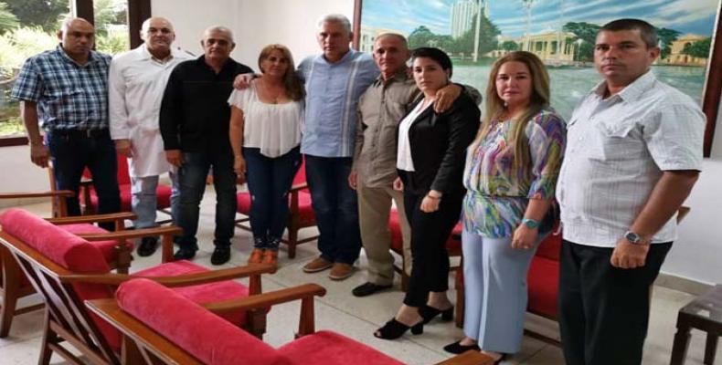 El Gobierno de Cuba reitera que trabaja sin descanso y de forma coordinada con Kenya y Somalia. Foto: @DiazCanel