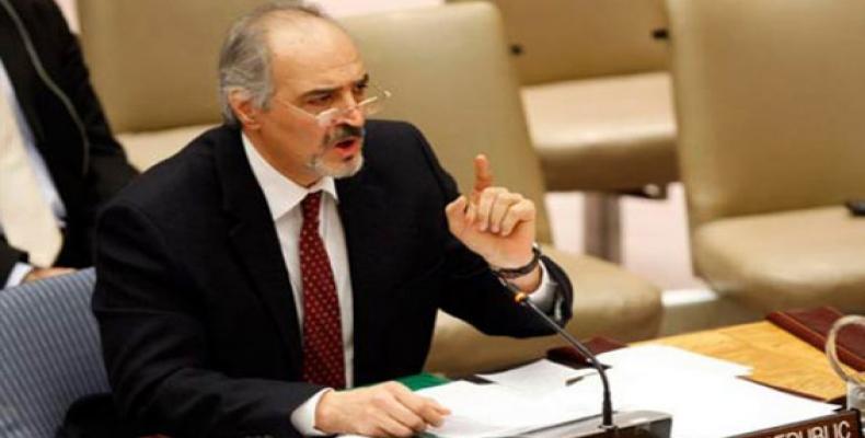 Syria's UN Ambassador Bashar al-Jaafari. File Photo