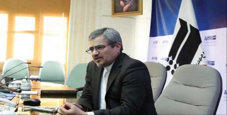 Qolamali Joshru, representante permanente de Irán ante la ONU. Foto/ PL