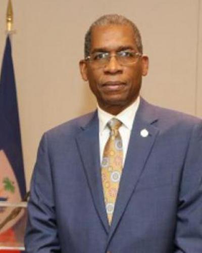 Canciller de Haití recibe al embajador cubano en ese país.Imágen:Cubaminrex.
