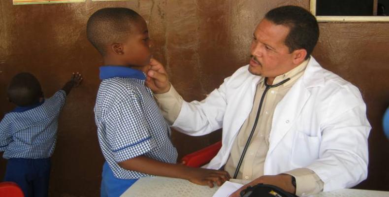 Médico cubano. Foto: Archivo