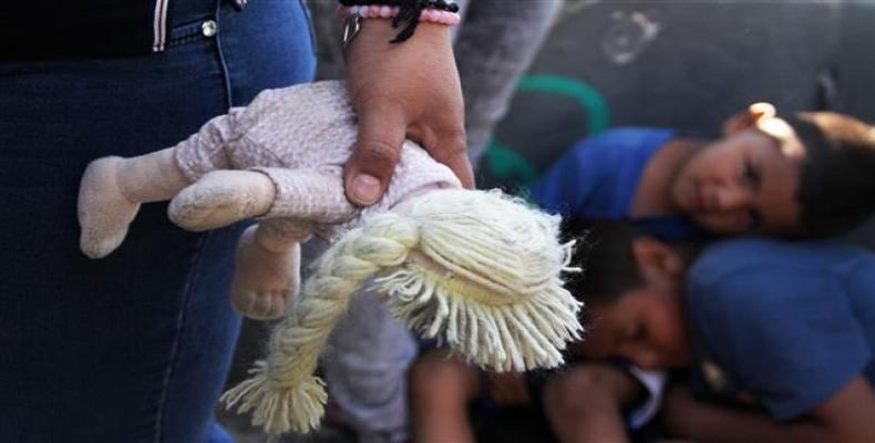 Trump administration lost track of thousands of children.  Photo: AP