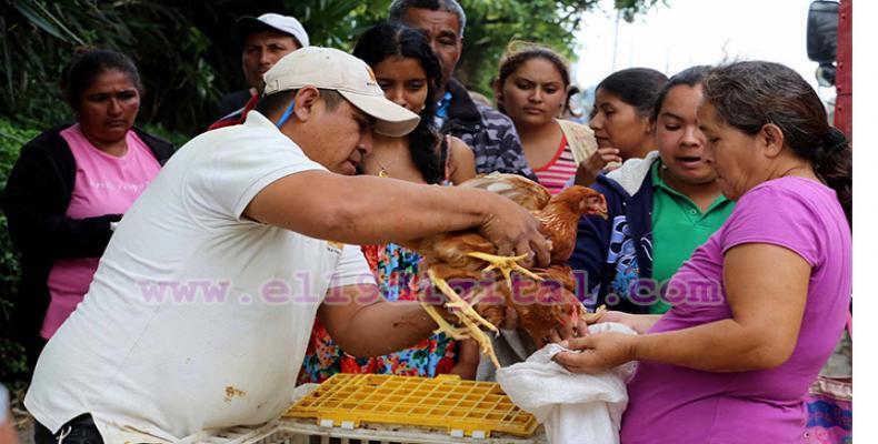 Rosario Murillo, aseguró que su gobierno continuará la lucha contra la pobreza y el acompañamiento a los más vulnerables.Foto:El 19.