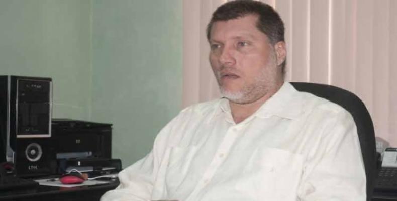 Oscar Luis Hung, presidente de la Asociación de Economistas y Contadores de Cuba