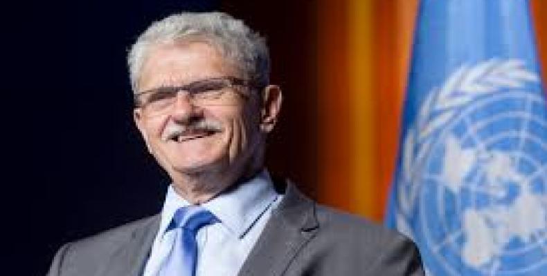 President of the United Nations General Assembly Mogens Lykketoft