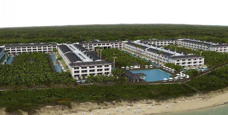 Cerca de la instalación existe un centro de Buceo y Marina. Fotos tomadas de la ACN