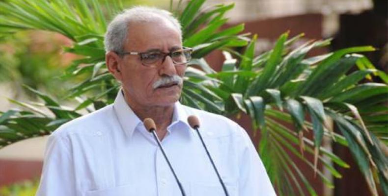 President of Sahrawi Arab Democratic Republic expresses thanks for Cuba's solidarity