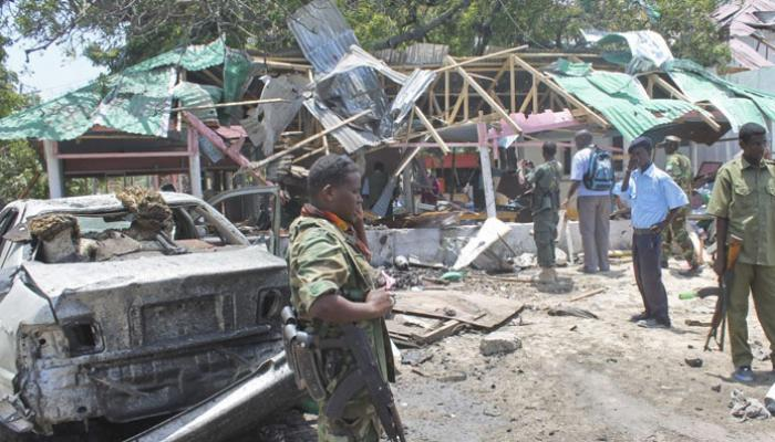 File photo ilustrating some of the numerous attacks by the Islamist group Al Shabaab in Somalia