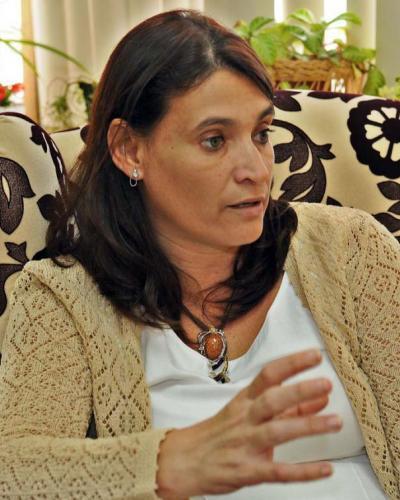 Ana Teresa Igarza. Foto: Jose M. Correa, diario Granma