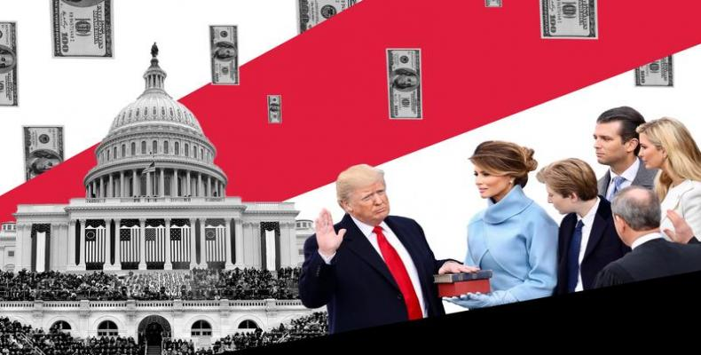 Trump inaugural committee took in record $107 million.  Photo: Google