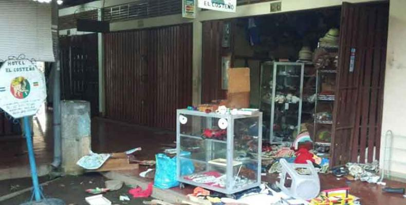 Vandalismo en Nicaragua