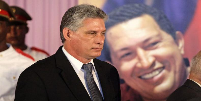 El dignatario cubano reitera su solidaridad con Nicolás Maduro y el pueblo chavista. Foto: Archivo
