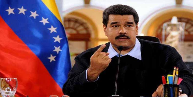 """""""Ce qui est en jeu au Venezuela est la paix en Amérique Latine"""" Nicolas Maduro."""