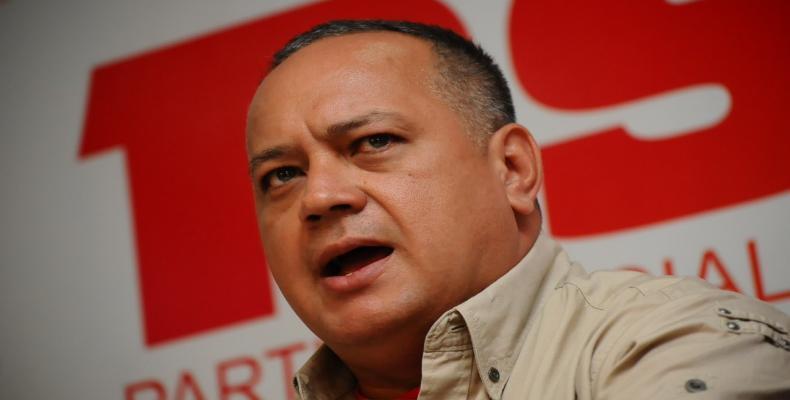 Primer vicepresidente del Partido Socialista Unido de Venezuela, Diosdado Cabello