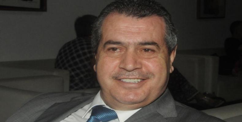 Ministro de Educación Superior de Siria, Atef Al Naddaf.