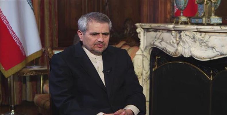 Iran's UN Ambassador Gholamali Khoshroo.  Photo: Press TV