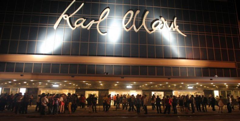teatro Karl Marx de la capital cubana.Archivo