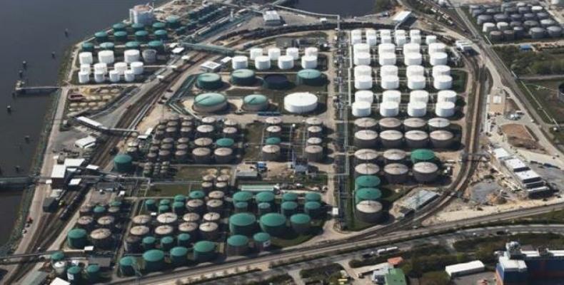 US' strategic petroleum reserve in the Gulf Coast. (Photo: Press TV)