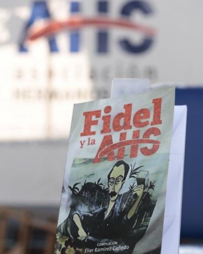 Book on Fidel Castro presented at closing session of young Cuban artists' congress