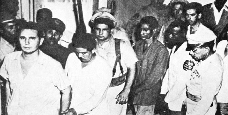 El joven Fidel Castro exigió asumir su propia defensa. Fotos: Internet y Archivo