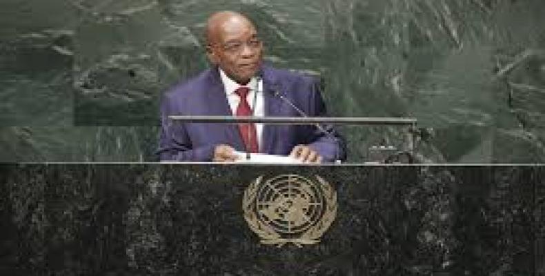 Presidente de Sudáfrica, Jacob Zuma