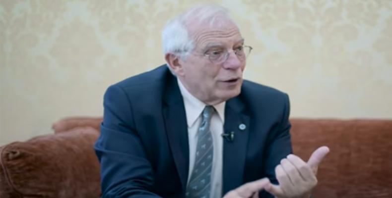Borrell subrayó que tanto el bloqueo de EE.UU. contra Cuba como las sanciones contra otros países resultan un abuso de poder. Fotos: Archivo
