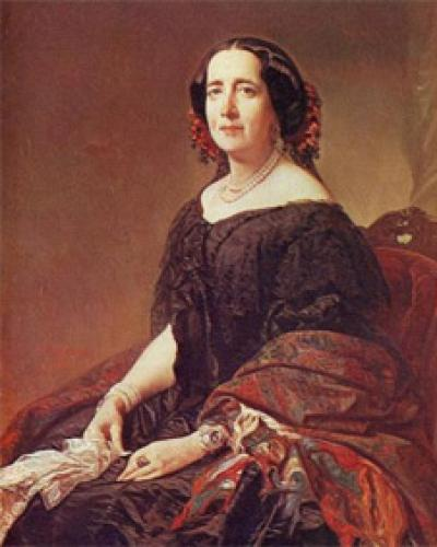Gertrudis Gómez de Avellaneda. Imagen de Archivo
