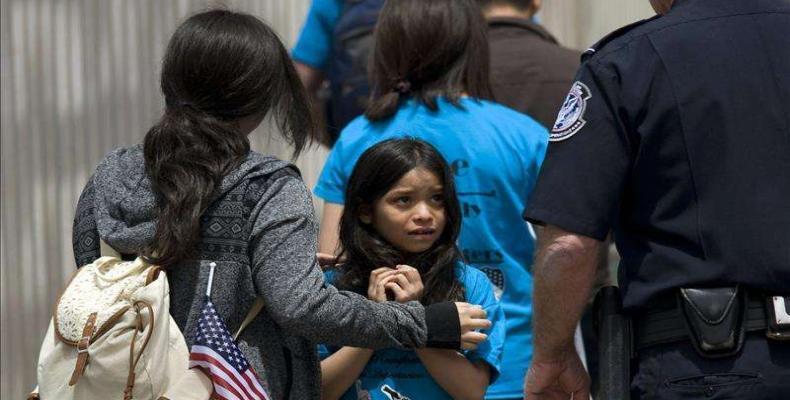 El gobierno de Trump es acusado por usar a los niños como peones para anotarse puntos políticos. Foto tomada de Internet