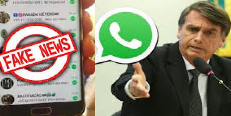 El Tribunal Superior Electoral de Brasil resolvió investigar la campaña de mensajes contra el Partido de los Trabajadores diseminados por WhatsApp.Imágen:Intern