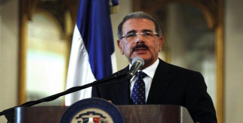 President of the Dominican Republic Danilo Medina