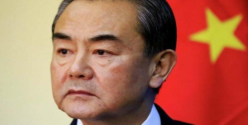 Canciller chino, Wang Yi.
