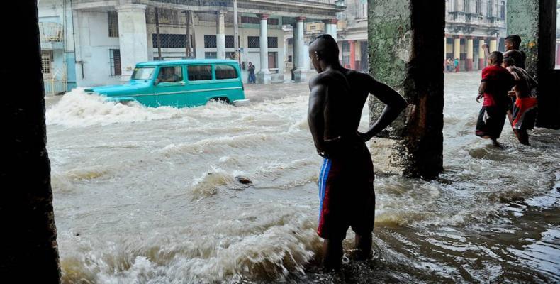Lluvias en Cuba