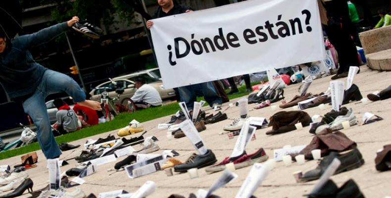 Senado mexicano aprova lei sobre desaparecidos.