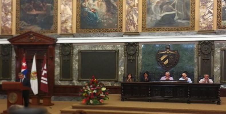 Día del Archivero Cubano.Foto: Presidencia Cuba.