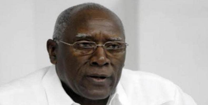 Cuban Vice President Salvador Valdés Mesa