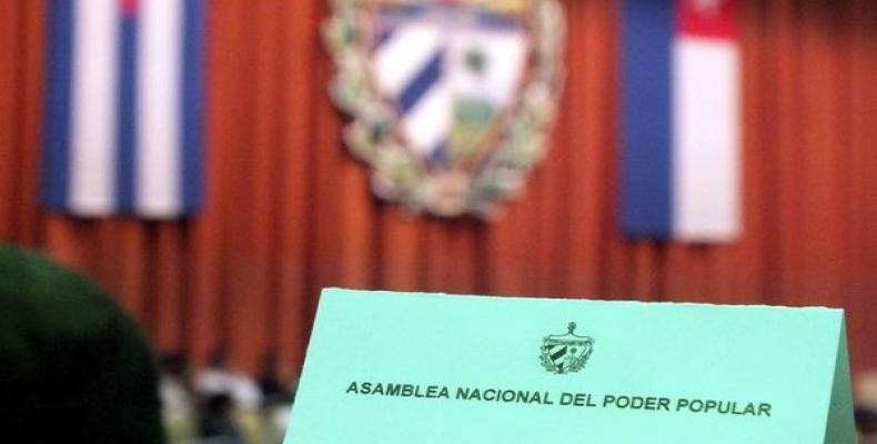 Sessão do parlamento cubano será na quarta-feira.