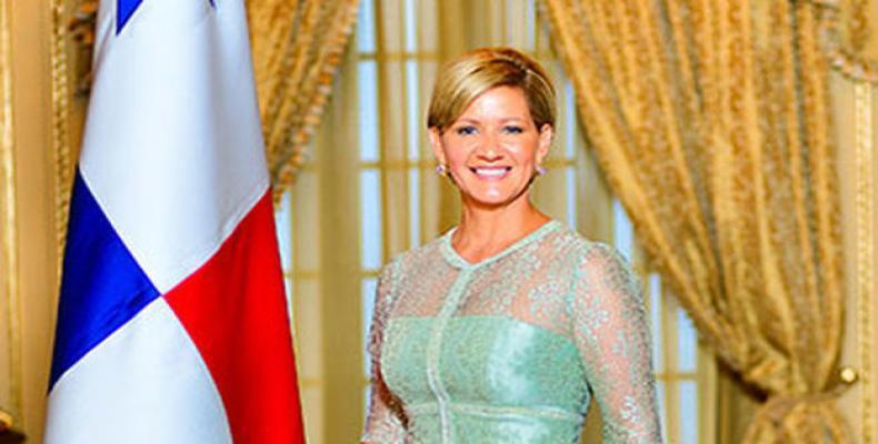 Lorena Castillo de Varela, Primera Dama de Panamá