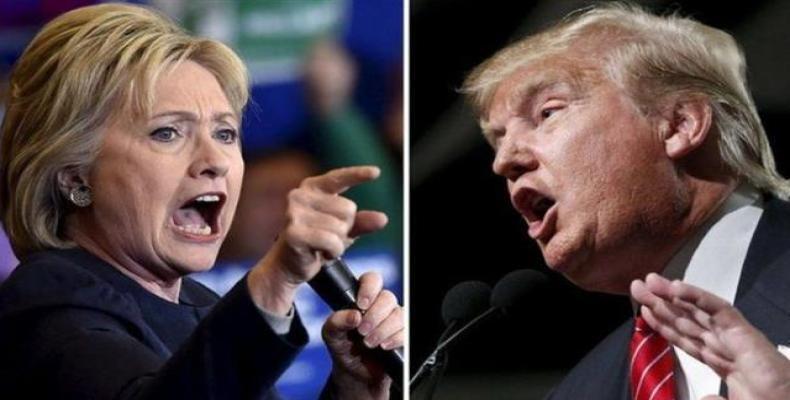 Hillary y Trump